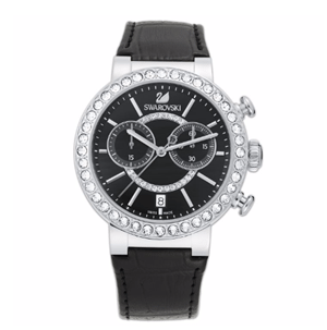 Swarovski Citra Chrono black watch