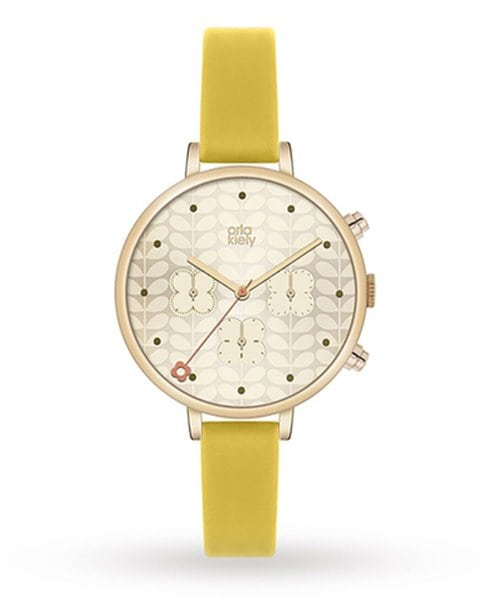 Goldsmiths Orla Kiely Ladies Ivy Watch 135