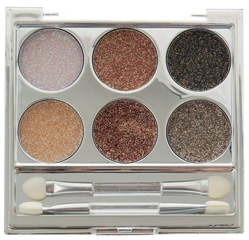 Claires Set of 6 Metallic Glitter Eyeshadows 5.50