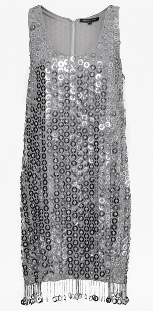 French Connection Cindy Sparkle Sequin Dress 185