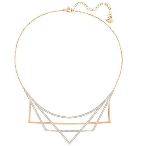 Swarovski Geometric Necklace
