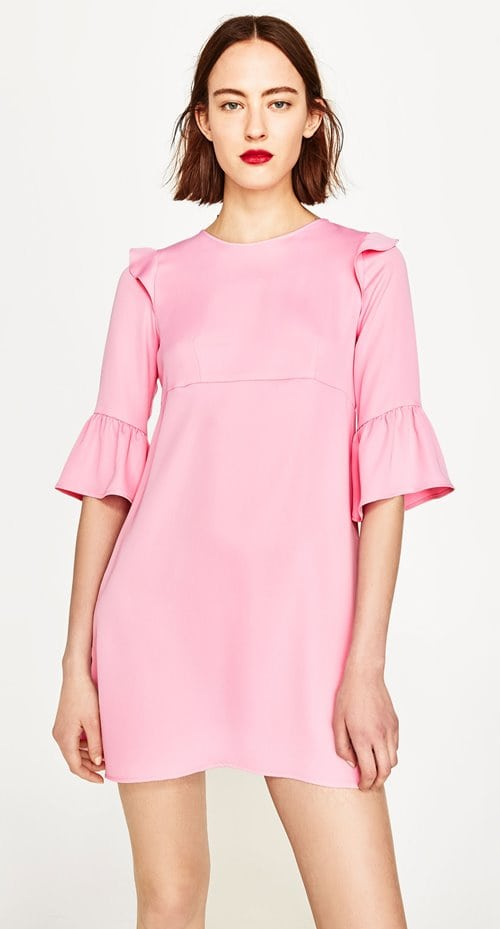 Zara Frilled Dress 29.99