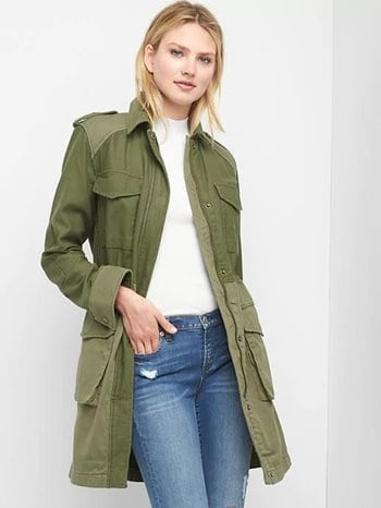 GAP Utility Trench Coat 79.95 350x
