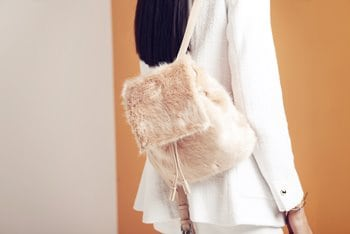 Zara Pink fluffy backpack 29.99 350x