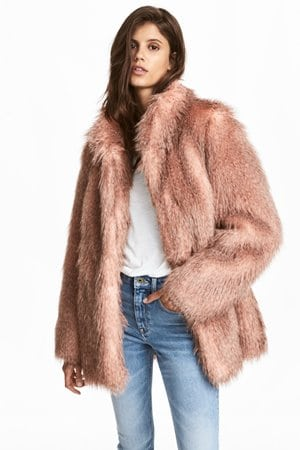HM Short Faux Fur Coat 79.99