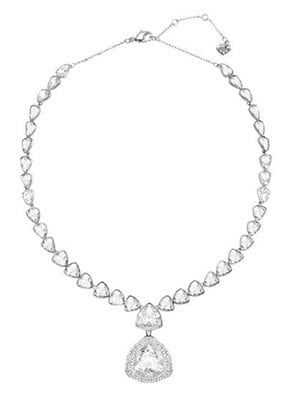 Swarovski Begin Necklace with White Palladium Plating 249