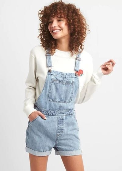 Gap Denim Short Overalls 39.95