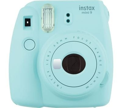 Currys PC World INSTAX mini 9 Instant Camera Ice Blue 66.99 bh