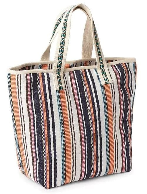 Gap Large Woven Tote 39.95