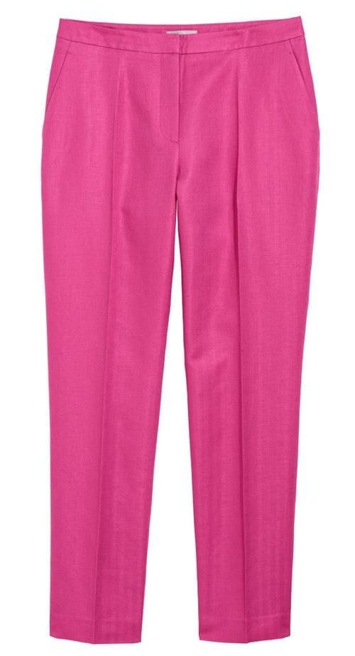 HM Linen blend Suit Trousers 34.99