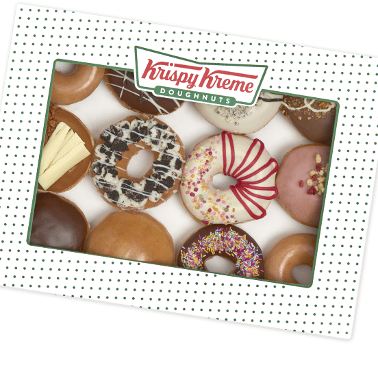 Krispy Kreme, The Sharer Dozen, £12.45