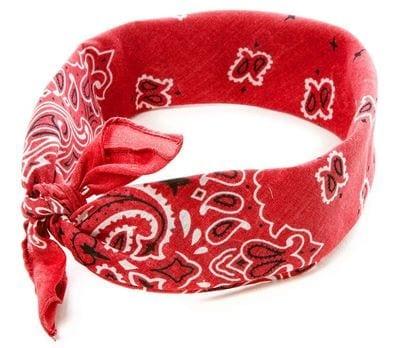 Claires Wide Jersey Paisley Bandana Headwrap