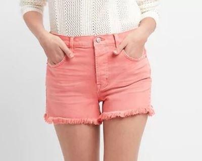 Gap Pink Denim Shorts 34.95