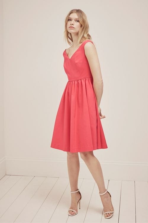 French-Connection-Glass-Stretch-Bardot-Dress-£120