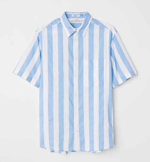 HM-Linen-Blend-Shirt-£17.99