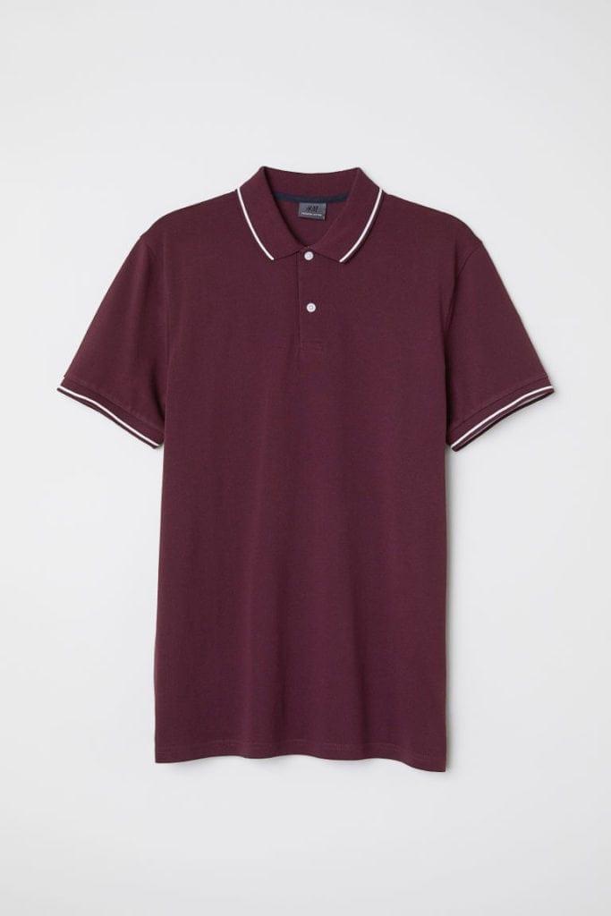 Premium cotton polo shirt - £17.99