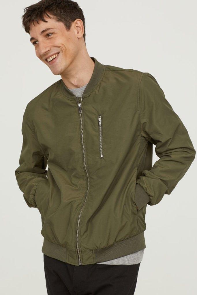 Nylon-blend bomber jacket - £24.99