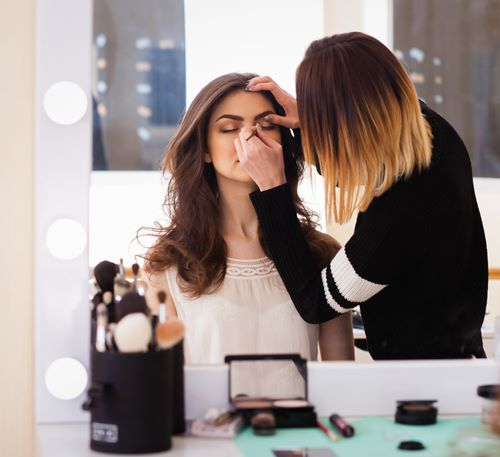 Make-up masterclass at The Body Shop