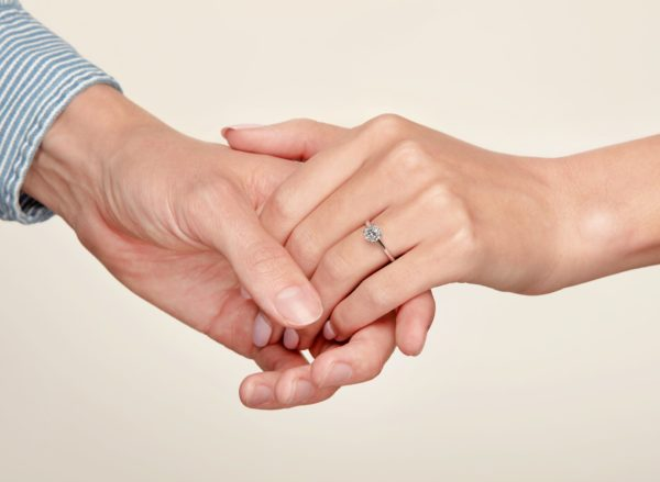 Save up to 50% on diamond engagement rings