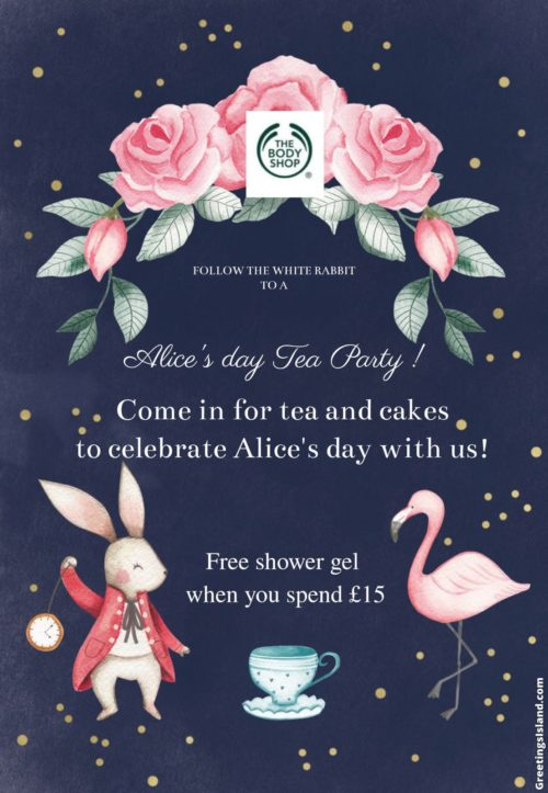 Upcoming events at The Body Shop