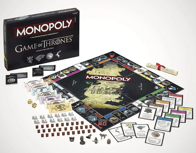 menkind game of thrones monopoly