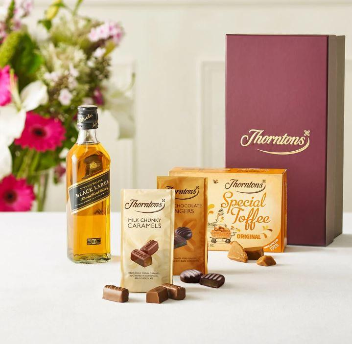 thorntons whisky hamper