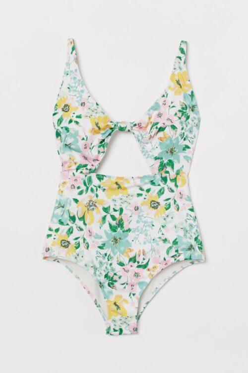 Cut-out swimsuit - H&M - £24.99
