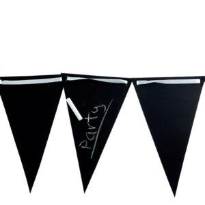 chalkboard flag banner image