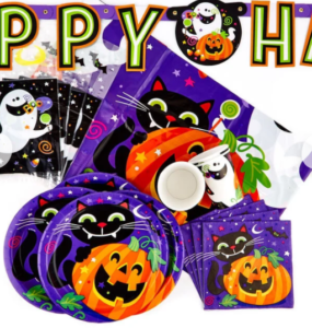 halloween party tableware image